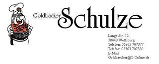 Goldbäcker Schulze
